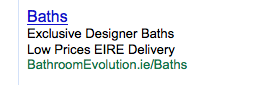 "adword ad using the term ""eire"""