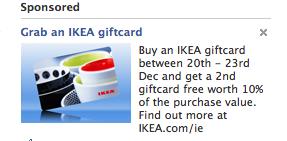 Ikea Advert