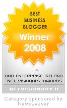 Best business blogger award