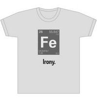 irony tshirt