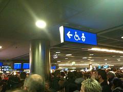 Dublin airport chaos