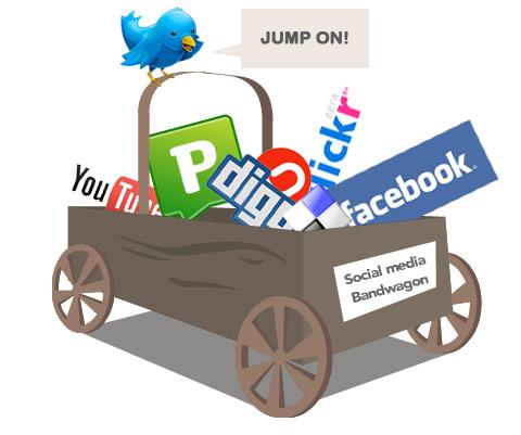 Jump on the social media bandwagon by Matt Hamm, on Flickr