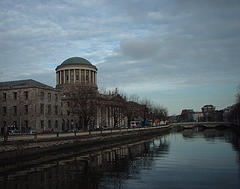 Dublin Landmarks _10b [The Four Courts ]  15-02-05