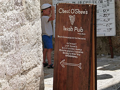 Chest O'Sheas Irish Pub, Budva, Montenegro
