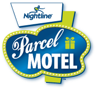 parcel motel logo