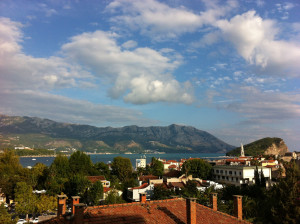 Budva, Montenegro view September 2012