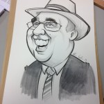 Michele Neylon caricature
