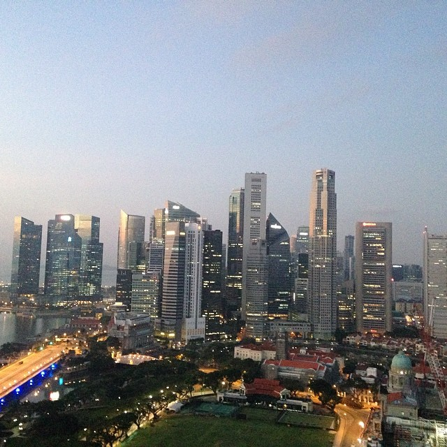 Good morning Singapore ! #singapore #icann49