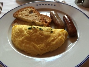 omelette from Bouchon at the Venetian Las Vegas