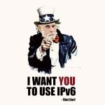Vint Cerf IPv6 poster