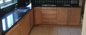 the kitchen in my new house is fully fitted