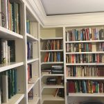 Floor to Ceiling Bookcase Shelving Finally Installed