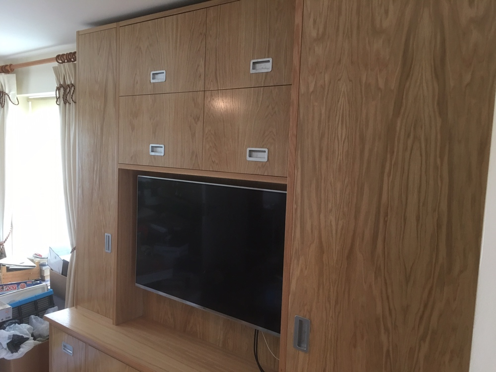 Television and AV unit with plenty of storage