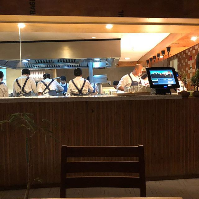 the kitchen at Astrid y Gaston
