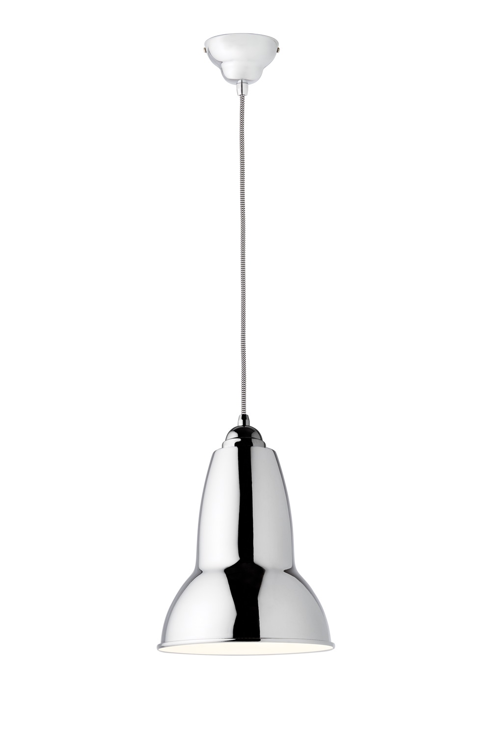 Anglepoise chrome pendant light
