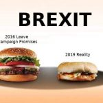 Brexit as a Burger