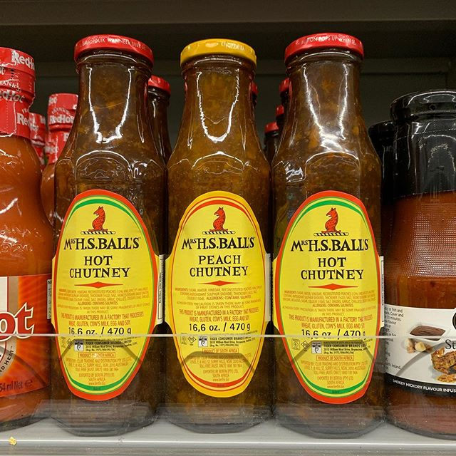 South Africa's favourite chutney spotted in SuperValu Midleton
