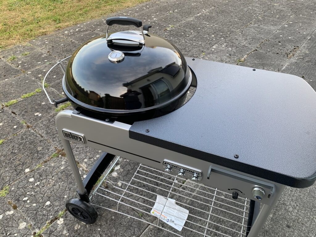 My assembled Weber Performer Deluxe GBS Charcoal Barbecue 57cm